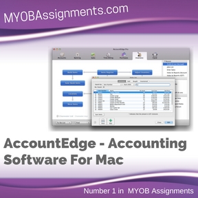 AccountEdge - Accounting Software For Mac Assignment Help