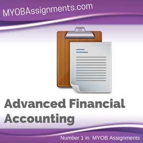 Advanced Financial Accounting Assignment Help