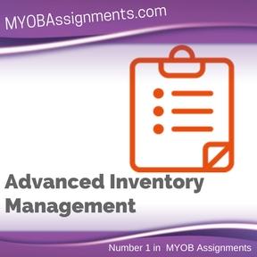 Advanced Inventory Management Assignment Help
