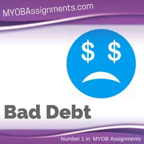 Bad Debt Assignment Help