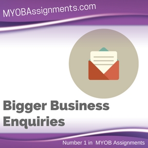 Bigger Business Enquiries Assignment Help