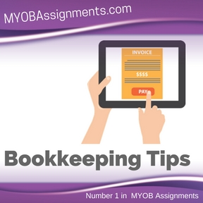Bookkeeping Tips Assignment Help