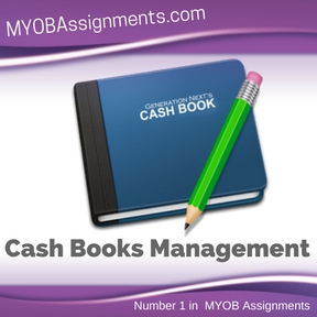 Cash Books Management Assignment Help