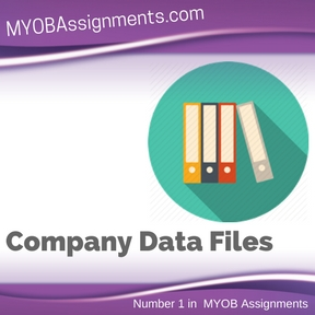Company Data Files Assignment Help