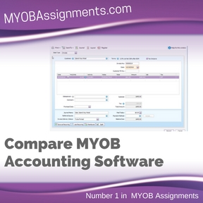 Compare MYOB Accounting Software Assignment Help