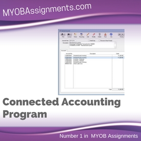 Connected Accounting Program Assignment Help