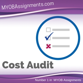 Cost Audit Assignment Help