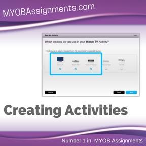 Creating Activities Assignment Help
