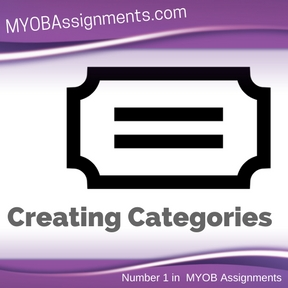 Creating Categories Assignment Help