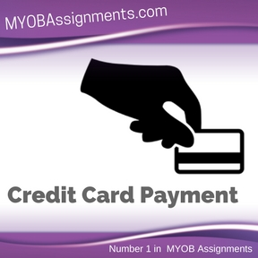 Credit Card Payment Assignment Help