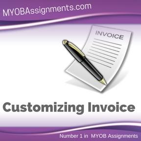 Customizing Invoice Assignment Help
