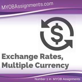 Exchange Rates, Multiple Currency Assignment Help