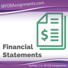 Financial Statements Assignment Help