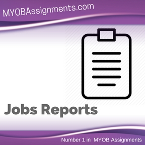 Jobs Reports Assignment Help