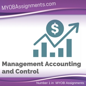 Management Accounting and Control Assignment Help