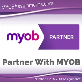 Partner With MYOB Assignment Help