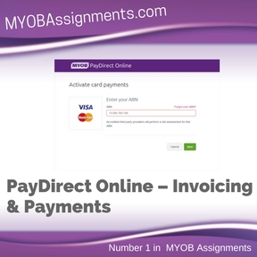 PayDirect Online – Invoicing & Payments Assignment Help