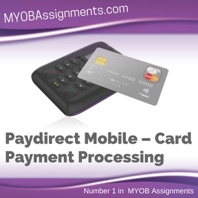 Paydirect Mobile – Card Payment Processing Assignment Help