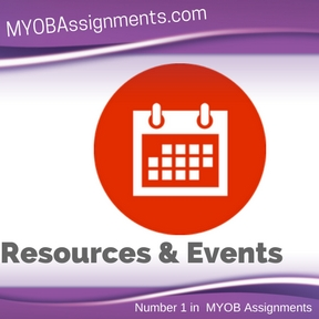 Resources & Events Assignment Help