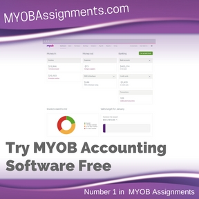 Try MYOB Accounting Software Free Assignment Help